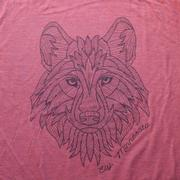 Red Wolf Tee