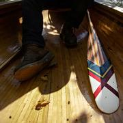 Sanborn Canoe Artisan Paddle Maquotketa