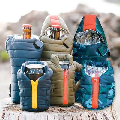 Puffin Beverage Jacket Cooler