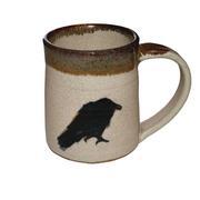 White Raven Mug