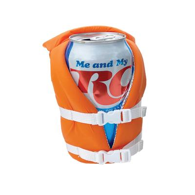 Puffin Beverage Orange Life Vest