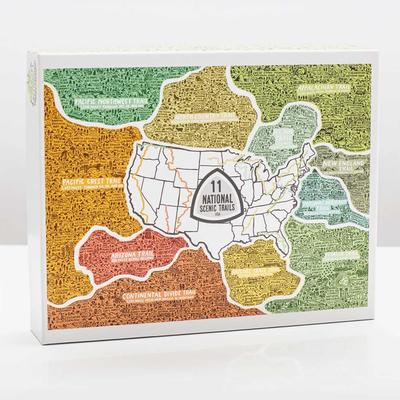 National Scenic Trails Puzzle