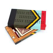 Sanborn Canoe Company Travel Cribbage Board Scout