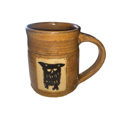 Woodcut Owl Mug