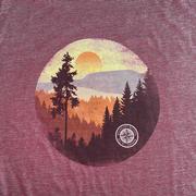 Tall Pine Sunset Compass Tee