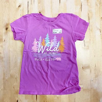 Wild At Heart Kids Tee