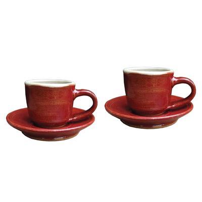 Espresso Mug And Saucer Set Of 2