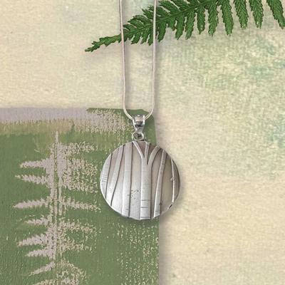Birch Tree Pendant