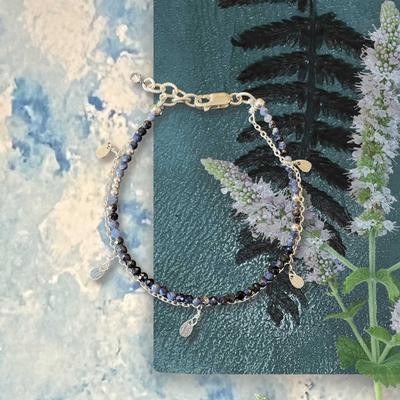 Double Sapphire Bracelet