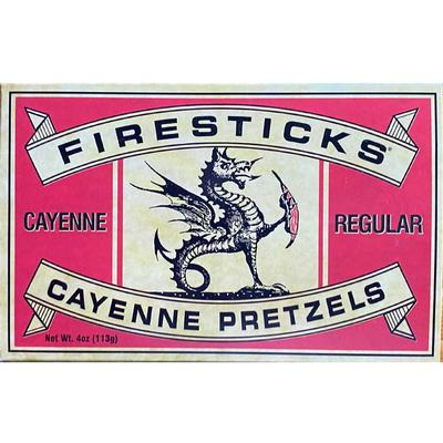 Firestick Pretzels Regular Cayenne