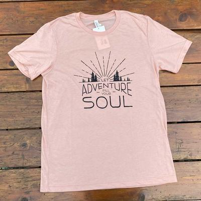 Let Adventure Fill Your Soul Tee