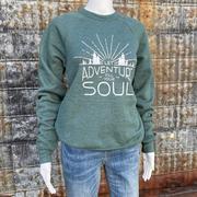 Let Adventure Fill Your Soul Fleece