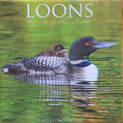 Loons: Spirits of the North 2022 Calendar