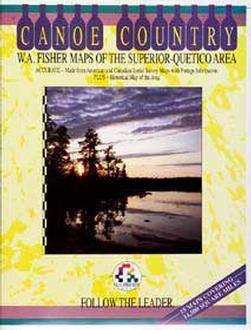 Superior Quetico Map Book