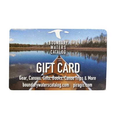 Gift Card From The Boundary Waters Catalog